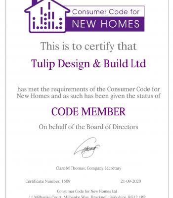CCNH Member Certificate